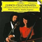 Martha Argerich & Mischa Maisky - J.S. Bach: Cello-Sonaten (0028941547125) (1 CD)