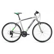 Cube Curve - VTC - gris/argent 58 cm Vélos de trekking