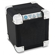 Numark Rock Block | Palm-Sized Wireless Portable Speaker System with Bluetooth Connectivity & Aux Input