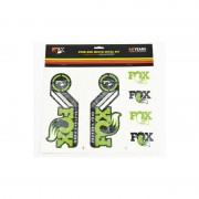 Fox Racing Shox Fork and Shock Decal Kit - DVD & Calendriers - vert DVD & Stickers