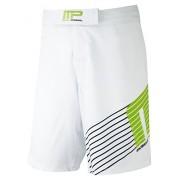 Musclepharm Men's Woven Shorts - White, Small