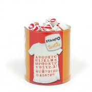 Aladine - 05.256 - Pad in stampa - Stampo tessile - Alfabeto