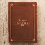 Prayer Journal Lux-Leather W/ Scripture/Prayers by Christian Art Gifts
