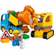 LEGO® DUPLO® Camion excavator pe șenile 10812