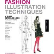 Fashion Illustration Techniques by Zeshu Takamura