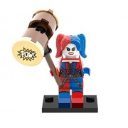 LEGO Compatible DC Superheroes Suicide Squad Harley Quinn Minifigure (76053) by CUSTOM