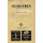 Tilskueren, Sept. 1922 (Indhold: Carl Thalbitzer: Dansk Expansion. Hans Brix: En Aften Paa Komedie. Hans Brix: Om Kilderne Til Holbergs Fem Første Komedier. M. F. Sødring: Nogle Minder Fra ...