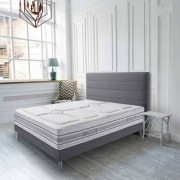 Simmons Literie SIMMONS Montaigne (matelas + sommier + pieds) Taille 140 x 200 cm