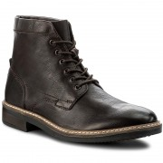 Ботуши CLARKS - Blackford Hi 261281447 Dark Brown Leather