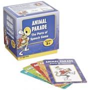 Edupress Last One Standing Animal Parade Parts of Speech Card Game - Set of 200