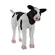 Melissa & Doug Giant Calf - Lifelike Stuffed Animal Baby Cow (0.5 meters tall)