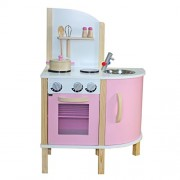 "Liberty House Toys ""Little Chef"" Contemporáneo Juguete de madera de la cocina (rosa)"