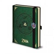 Legend Of Zelda Premium Notebook A5 Triforce Pyramid International