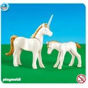 Playmobil Unicorn with Foal