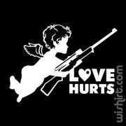T-shirt Love Hurts