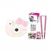 Cámara Instantánea Fujifilm Instax Mini Edición Hello Kitty incluye cartucho de 10 y varios accesorios