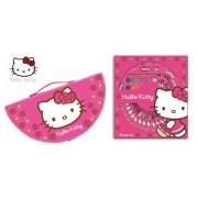 Hello Kitty - Maletín dibujo 36 piezas, 38 x 20 cm (Montichelvo 20277)