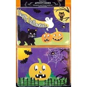 Happy Halloween Trick or Treat Inspired Kids Activity Book Favors! 20 Ct Pk! Perfect Giveaway or Party Favor!