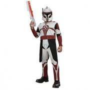 Star Wars Clone Wars Clone Trooper Childs Commander Fox Costume Medium