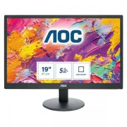 "AOC E970swn 18.5"" Nero Monitor Piatto Per Pc Led Display 4038986193788 E970swn 10_0g30141"