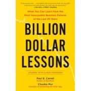 Billion Dollar Lessons by Chunka Mui