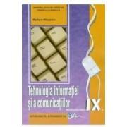 Tehnologia informatiei si a comunicatiilor cls 9 ed.2016 - Mariana Milosescu