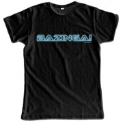 Video Delta - The Big Bang Theory: Bazinga T-Shirt, Uomo, in Taglia M