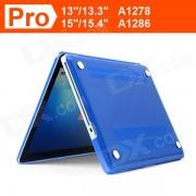 "ENKAY Crystal Hard Protective Case for Macbook Pro 15.4"" - Dark Blue"