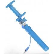 KitVision Selfie stick KitVision KVPKSSWBL, conectare prin Jack 3.5mm, declansator pe maner (Albastru) (KVPKSSWBL)