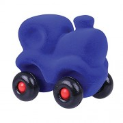 Rubbabu The Little Choo Choo Train Green, Natural foam toys in simple shapes and bright colours