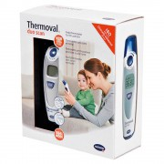 THERMOVAL duo scan Fieberthermometer f.Ohr+Stirn 1 Stück