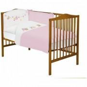 Lenjerie de pat cu 3 piese Toys Roz 800-011-007