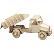 Puzzle eco 3D din lemn Truck Pebaro