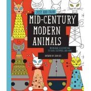 Just Add Color: Mid-Century Modern Animals by Jenn Ski