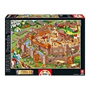 Educa 16343 - Middle Ages - 1000 pieces - Stories of the History Puzzle