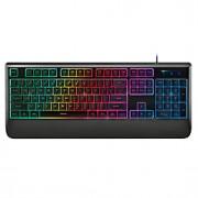 104keys Rapoo teclado para jogos toque mecânica V56 multimedia ergonómico backlit impermeável usb teclado com fio
