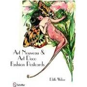 Art Nouveau and Art Deco Fashion Postcards by Edith Weber
