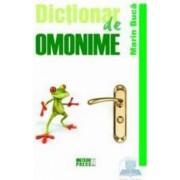 Dictionar de omonime - Maria Buca