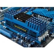 Memorie Corsair 16GB (4x4GB) DDR3, 1600MHz, CL9, radiator Vengeance albastru, Dual Channel Kit, CMZ16GX3M4A1600C9B