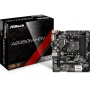Matična ploča ASRock AB350M-HDV, sAM4, mATX