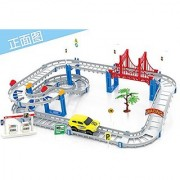 Coobl Train Rail Cars Toys for Childrens Classic Educational Toys 95-12