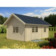 Casa de madera Sandra 3 de 605x410 cm. para Jardín