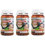 """3 Box Prosta Well Suplemento próstata con licopeno, Saw Palmetto (Serenoa Repens) ortiga, remedio natural para la salud y para combatir la """"inflamación. Envío rápido en toda Europa 3 paquetes de 60 comprimidos (un total de 180 tabletas)"""