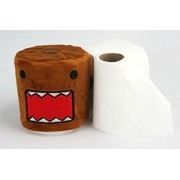Domo-Kun, Domo Cartoon, Officially Licensed - TOILET PAPER COVER - Anime Series Toilet Paper Roll Cloth Fabric Cover