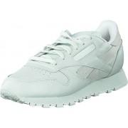 Reebok Classic Cl Lthr Spirit Philosophic/White/Energy, Skor, Sneakers & Sportskor, Sneakers, Grön, Dam, 36