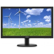 "Monitor TFT-LCD Philips 23.6"" 243S5LSB/00, Full HD (1920 x 1080), VGA, DVI, 5 ms (Negru)"