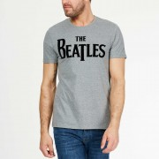 Gestippeld T-shirt van 'The Beatles'