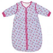 JOJO Maman Bébé Confort - Saco para bebé rosa estampado de rosas Talla:6-18 meses