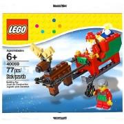 LEGO Estacional: SANTA Y Sleigh Establecer 40059 (Bolsas)