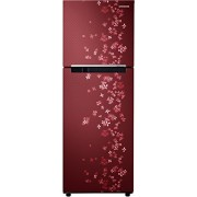 Samsung 253 L 4 Star Frost-free Double Door Refrigerator (RT27JARZERY, Sanganeri Ring Red)